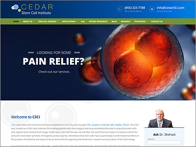 Cedar Stem Cell Institute