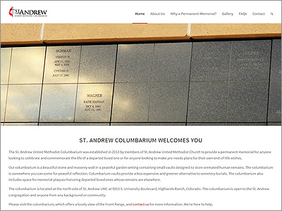 St. Andrew United Methodist Columbarium